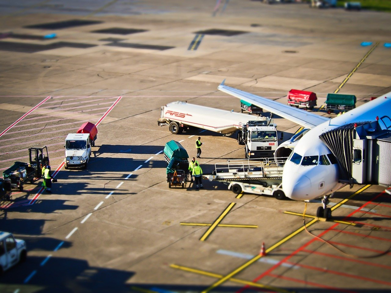 Freight forwarding at airport